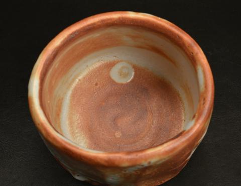 鼡志野茶碗
