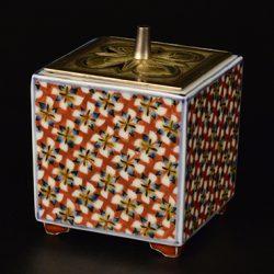富本憲吉-色繪香爐