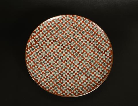 色繪菓子皿