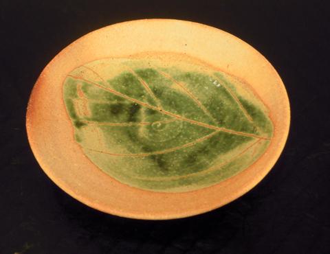 信楽土木の葉皿