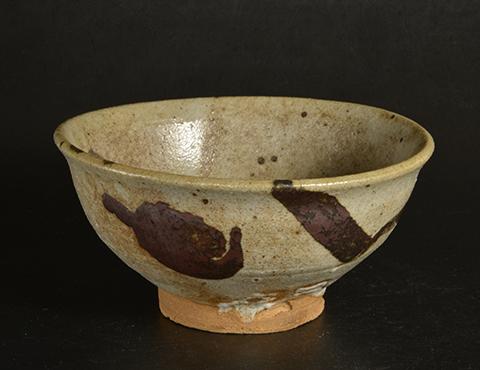 絵唐津茶碗