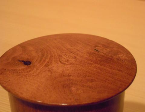 拭漆百日紅金輪寺茶器