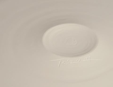 白磁平台皿