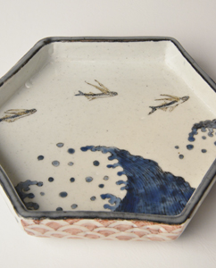色絵染付 柴山勝展 Exhibition of Shibayama Masaru