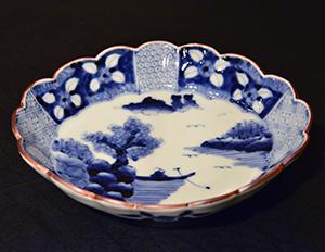 【染付 岩永浩展】 Exhibition of Iwanaga Hiroshi