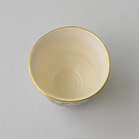 色絵百鹿紋杯