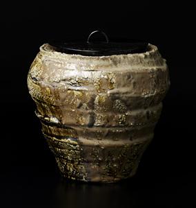 古セト窯変壷