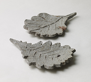 慶州土木の葉皿 五客