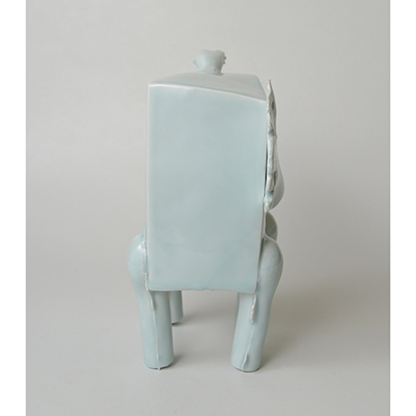 青白瓷 馬