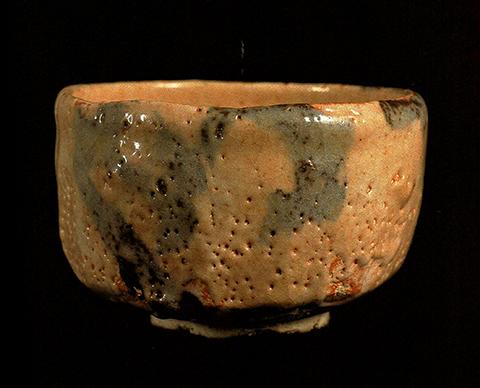 絵志野茶碗