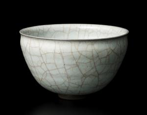 米色瓷窯変碗