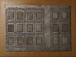 銀泥陶板 窓