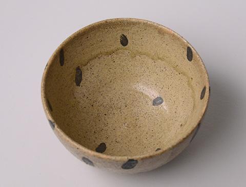 黄瀬戸釉銀彩鉢