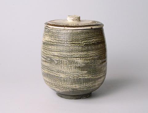 「No.13 魯山人 ミしま水指 / Rosanjin Water jar, Mishima style」の写真 その2