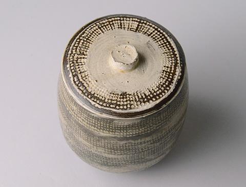 「No.13 魯山人 ミしま水指 / Rosanjin Water jar, Mishima style」の写真 その3