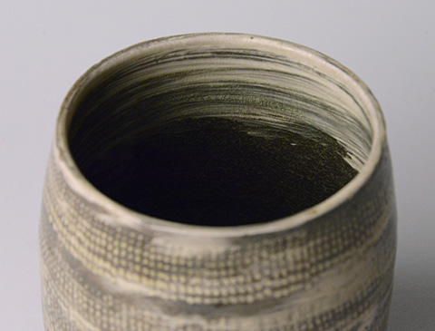 「No.13 魯山人 ミしま水指 / Rosanjin Water jar, Mishima style」の写真 その4