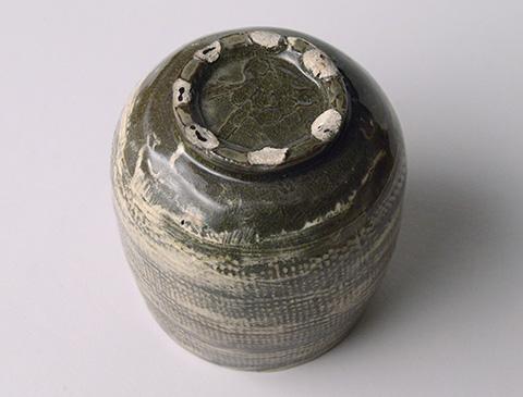 「No.13 魯山人 ミしま水指 / Rosanjin Water jar, Mishima style」の写真 その7