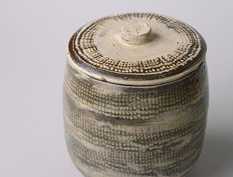 「No.13 魯山人 ミしま水指 / Rosanjin Water jar, Mishima style」の写真 その5