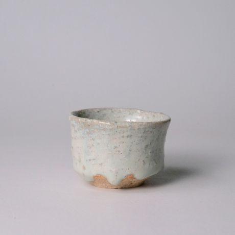 「No.142 斑唐津ぐい呑  / Sake cup, Madara-karatsu」の写真 その1