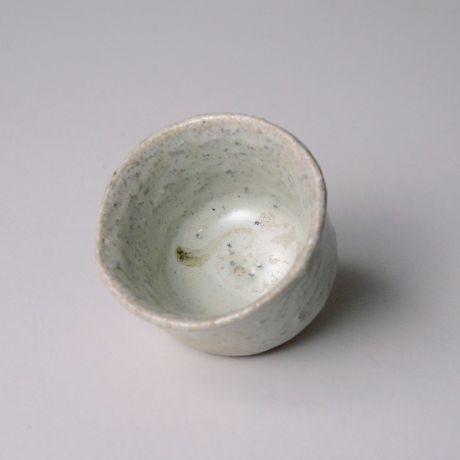 「No.142 斑唐津ぐい呑  / Sake cup, Madara-karatsu」の写真 その2