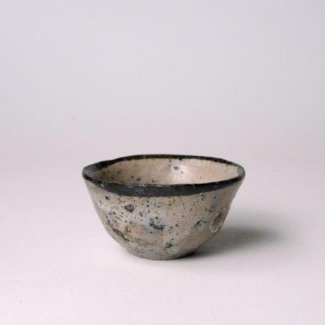 「No.150 唐津皮鯨ぐい呑  / Sake cup, Karatsu-kawakujira」の写真 その1