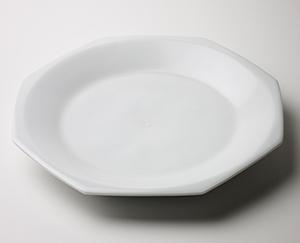 白磁八角皿