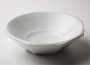 白磁面取鉢