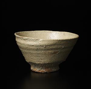 茶碗 銘「白菊」
