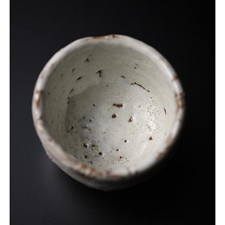 「No.10 三輪休和 萩焼酒盃  (白萩) / MIWA Kyuwa Sake cup, Hagi」の写真 その3