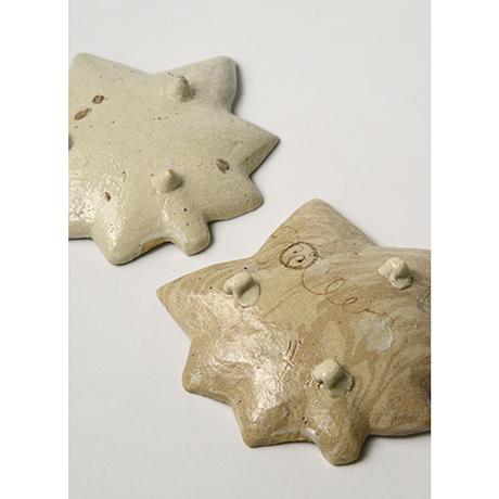 「No.11 絵織部紅葉向付揃 五 / A set of 5 dishes, E-oribe, Maple shaped」の写真 その5