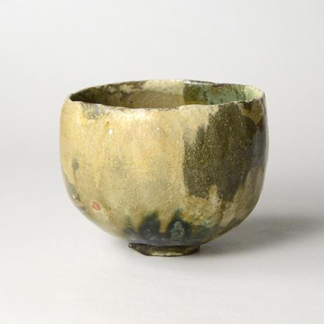 「No.17 黄瀬戸織部茶碗 / Tea bowl, Kiseto-oribe」の写真 その2