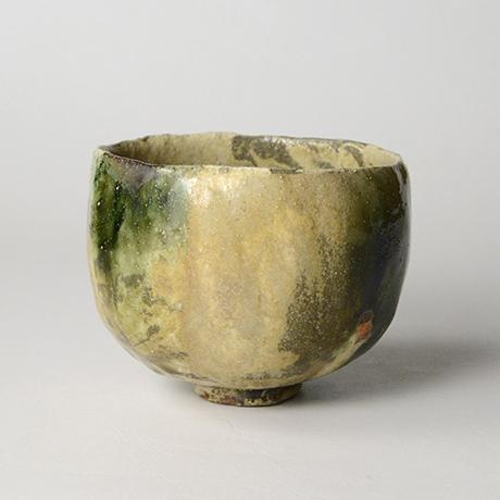 「No.17 黄瀬戸織部茶碗 / Tea bowl, Kiseto-oribe」の写真 その3