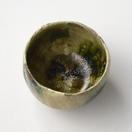 「No.17 黄瀬戸織部茶碗 / Tea bowl, Kiseto-oribe」の写真 その5