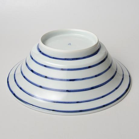 「No.2 横縞葡萄文中鉢 / Bowl, Sometsuke」の写真 その3