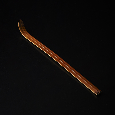 「No.24 黒田辰秋 茶杓 / KURODA Tatsuaki Tea Scoop」の写真 その1