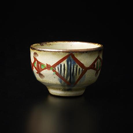 琉球窯赤繪盃