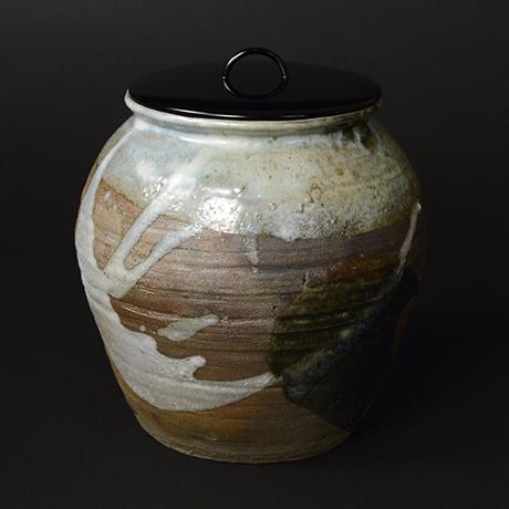 「No.48 朝鮮唐津水指 / Water Jar, Chosen-karatsu」の写真 その1