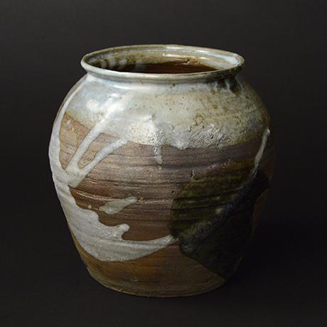 「No.48 朝鮮唐津水指 / Water Jar, Chosen-karatsu」の写真 その2