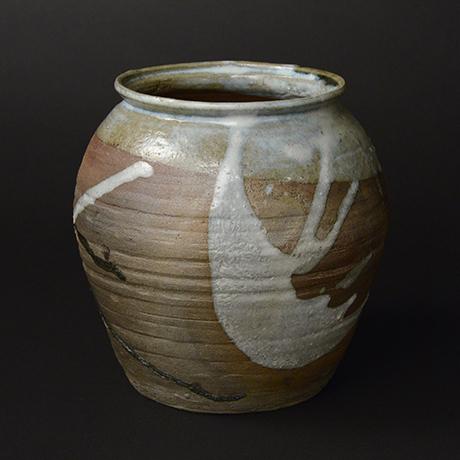 「No.48 朝鮮唐津水指 / Water Jar, Chosen-karatsu」の写真 その5