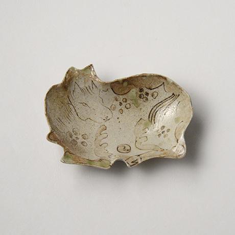 「No.48 古染付写し向付揃 六 / A set of 6 dishes, Old Sometsuke work motif」の写真 その5