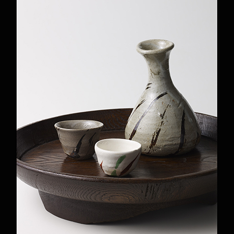 京橋・魯卿あん【酒器特集展】Exhibition of Grandmasters' Tokuri & Guinomi (at Rokeian, Kyobashi)