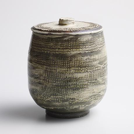 「No.13 魯山人 ミしま水指 / Rosanjin Water jar, Mishima style」の写真 その1