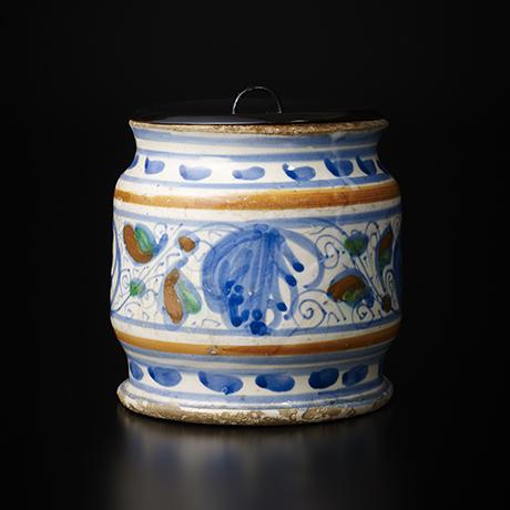 「No.29 オランダ水指 / Water jar, Delftware」の写真 その1