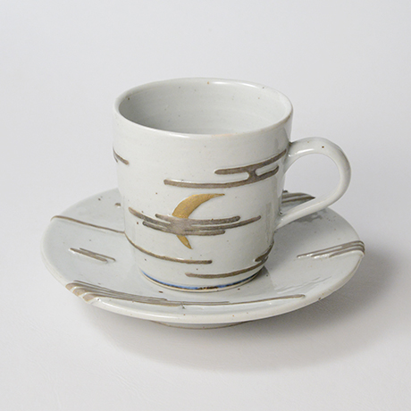 """「No.11  天渡る月の満欠 コーヒー碗 Coffee cup, """"The Waxing and Waning of the Moon""""」の写真 その1"""