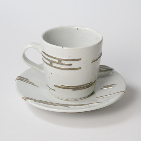 """「No.11  天渡る月の満欠 コーヒー碗 Coffee cup, """"The Waxing and Waning of the Moon""""」の写真 その2"""