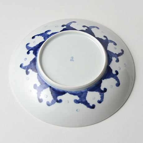 「No.11 金魚文八寸皿 / Dish with Goldfish design, Sometsuke」の写真 その2