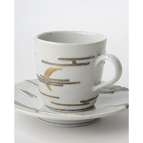"""「No.11  天渡る月の満欠 コーヒー碗 Coffee cup, """"The Waxing and Waning of the Moon""""」の写真 その5"""