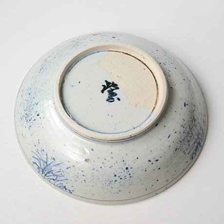 「No.14 染付みみいか大鉢 Bowl, Sometsuke」の写真 その3