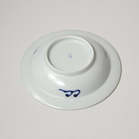 「No.17 唐草山水文リム六寸皿 / Dish with arabesque and landscape design, Sometsuke」の写真 その3