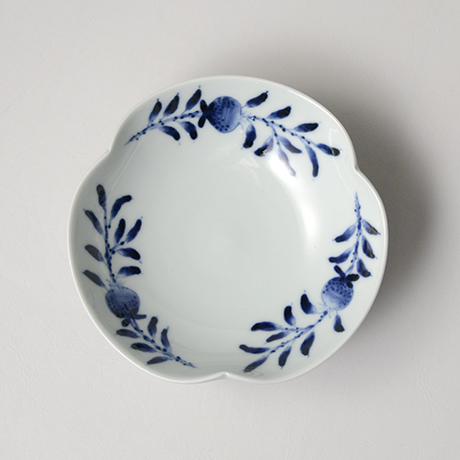 「No.18 玉実文三方押向付 /   Dish, Sometsuke」の写真 その2
